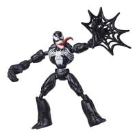 E7335_004w Figurina flexibila Spiderman Bend and Flex, Venom (E7689)