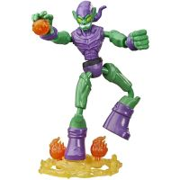 E7335_005w Figurina flexibila Spiderman Bend and Flex, Green Goblin E8973