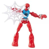 E7335_013w Figurina flexibila Spiderman Bend and Flex, Scarlet Spider F2297