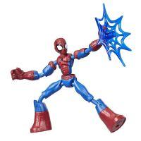 E7335_014w Figurina flexibila Spiderman Bend and Flex E7686