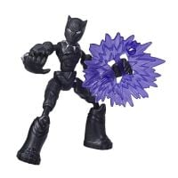 E7377_001w Figurina flexibila Avengers Bend and Flex, Black Panther (E7868)