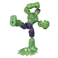 E7377_004w Figurina flexibila Avengers Bend and Flex, Hulk (E7871)