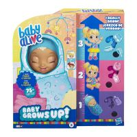 E8199_001w Papusa care creste in timp real Baby Alive, Baby Grows Up