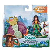 E9475_001w Set Figurine Disney Raya and the Last Dragon - Raya si Tuk Tuk