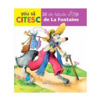Editura GIRASOL - Stiu sa citesc. 20 de fabule de La Fontaine