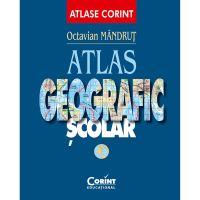 EDU.011_001w Carte Editura Corint, Atlas geografic general nou, Octavian Mandrut