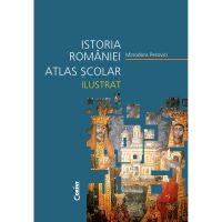 EDU.071_001w Carte Editura Corint, Atlas scolar ilustrat Istoria Romaniei, Minodora Perovici