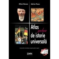 EDU.074_001w Carte Editura Corint, Atlas scolar de istorie universala, Mihai Manea, Adrian Pascu EDU.074