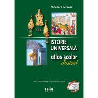 EDU.347_001w Carte Editura Corint, Atlas istorie universala ilustrat, Minodora Perovici
