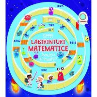 EDU.361_001w Carte Editura Corint, Labirinturi matematice. Inmultiri si impartiri, Angelika Scudamore