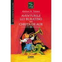 EDU.380_001w Carte Editura Corint, Aventurile lui Buratino sau cheita de aur, Aleksei N. Tolstoi