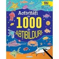 EG0020_001w Carte Editura Girasol, Activitati cu 1000 de abtibilduri - Animale marine