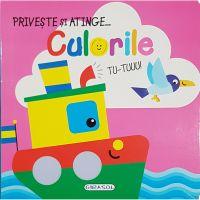EG0402_001w Carte Editura Girasol, Priveste si atinge, Culorile