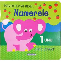 EG0419_001w Carte Editura Girasol, Priveste si atinge, Numerele