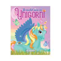 EG0471_001 Carte Editura Girasol, Jurnalul meu cu Unicorni