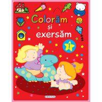 EG0631_001w Carte editura Girasol, Coloram si exersam 1