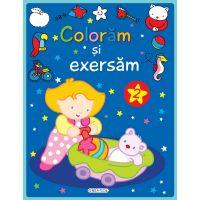 EG0648_001w Carte editura Girasol, Coloram si exersam 2