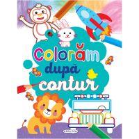 EG0679_001w Carte de colorat Girasol, Coloram dupa contur