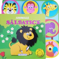 EG0969_001w Carte Editura Girasol, Pentru prichindei, Animale salbatice