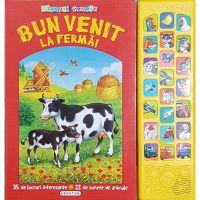 EG1089_001w Carte Editura Girasol, Glasuri vesele, Bun venit la ferma!