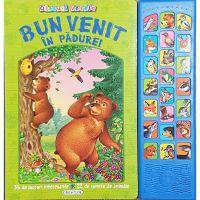 EG1096_001w Carte Editura Girasol, Glasurile veseliei, Bun venit in padure!