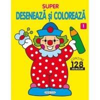 EG2610_001 Carte Girasol - Super, deseneaza si coloreaza 1