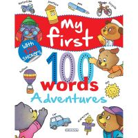 EG3209_001w Carte Editura Girasol, My first 100 words - Adventures