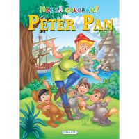EG6729_001w Carte Editura Girasol, Hai sa coloram! Peter Pan