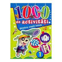 Carte Girasol 1000 de activitati pentru copii isteti - volumul 1