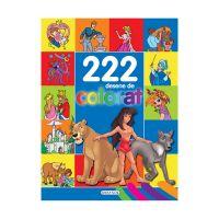 EG7375_001w Carte Editura Girasol, 222 desene de colorat