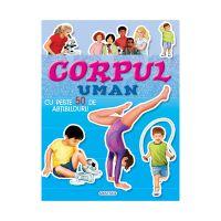 EG7450_001 Carte Editura Girasol, Cauta si lipeste, Corpul Uman