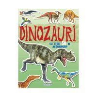 EG7467_001 Carte Editura Girasol, Cauta si lipeste, Dinozauri