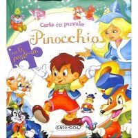 EG7610_001 Carte cu puzzle, Pinocchio