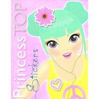EG8358_001w Carte Editura Girasol, Princess TOP Stickers, Galben
