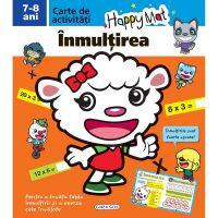 EG8839_001w Carte Editura Girasol, Happy Mat - Inmultirea 7-8 ani