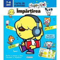 EG8846_001w Carte Editura Girasol, Happy Mat - Impartirea 7-8 ani