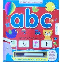 EG9263_001 - Carte Editura Girasol - Scrii si stergi - ABC