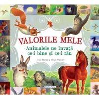 EG9683_001w Carte Girasol - Valorile Mele - Animalele ne invata ce-i bine si ce-i rau
