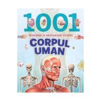 EG9966_001 Carte Editura Girasol, 1001 intrebari si raspunsuri despre corpul uman
