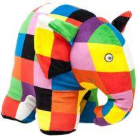 EL1765_001w Jucarie bebe de plus Elefantul Elmer