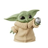 F1213 - Figurina Star Wars Baby Yoda, Ball Toy, F12225l00, 6 cm
