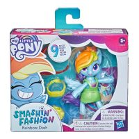 F1277 F1758 Figurina My Little Pony Smashin Fashion, Rainbow Dash F1758