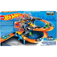 FDF28_001w Set de joaca Hot Wheels, Intrecere la fabrica