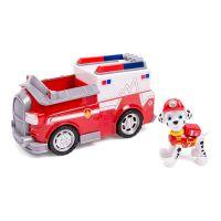 Figurina cu autovehicul Paw Patrol -  Masina de pompieri a lui Marshall