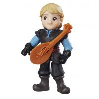 Figurina Disney Frozen Micul Regat - Kristoff si cobza, 7.5 cm