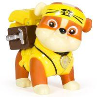 Figurina Paw Patrol Hero - Pup-Fu Rubble, 5.5 cm