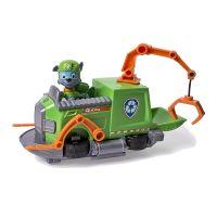 Figurina si autovehicul Paw Patrol - Remorcherul lui Rocky