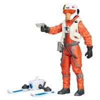 Figurina Star Wars Snow Mission - Ello Asty Pilot Nava X-Wing, 9.5 cm
