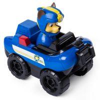 Figurina cu vehicul de interventie Paw Patrol - Chase