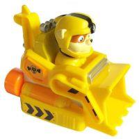 Figurina cu vehicul de salvare Paw Patrol - Rubble